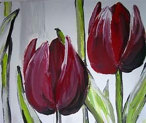 25+ beste ideeën over Bloemen schilderen op Pinterest
