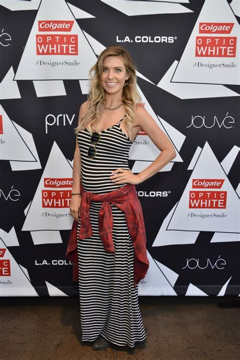 Audrina Patridge Colgate Optic White Beauty Bar