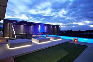 Eclairage Exterieur Piscine : led gartenbeleuchtung ideen f r terrasse und blumenbeet ~ Premium-room.com Idées de Décoration