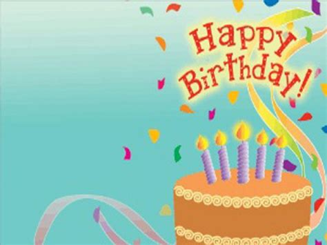 happy birthday backgrounds  powerpoint templates