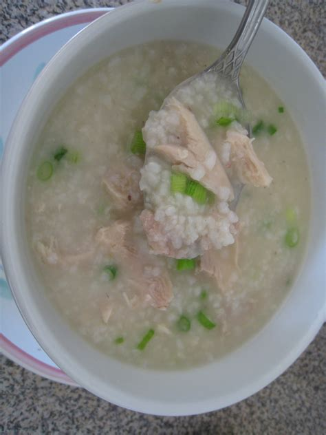 congee recipe chinese chicken congee recipe dishmaps