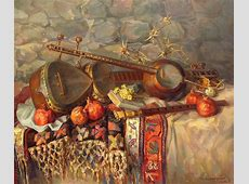 Stilllife With Armenian Musical Instruments Duduk Thar
