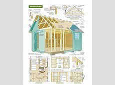 Free 8x8 Gambrel Roof Storage Shed Plans How To Build A