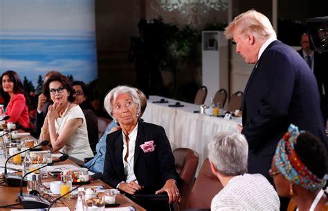 donald trump arrives late  gender equality advisory