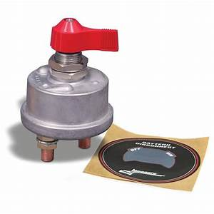 Longacre U00ae 52-45750 Battery Disconnect Switch