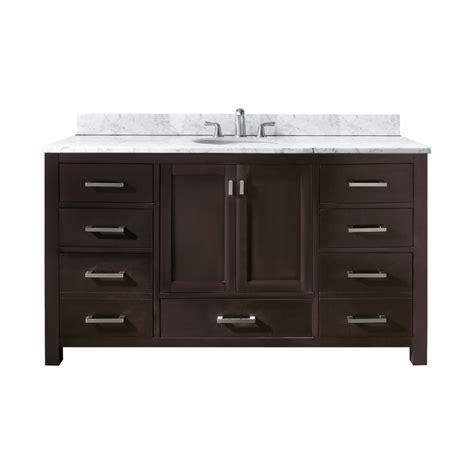 60 vanity single sink 60 inch single sink bathroom vanity with choice of top