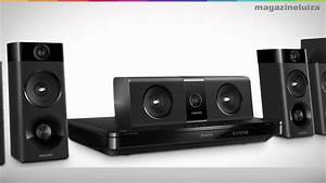 Home Theater Philips HTB5510D c Blu ray 3D DVD 800W ...