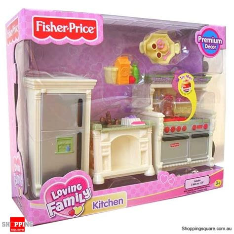 loving family kitchen furniture fisher price loving family premium decor furniture kitchen online shopping shopping square