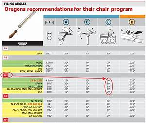 21 Lovely Chainsaw Chain Replacement Chart