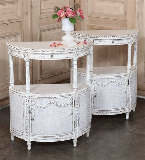 distressed wood nightstand unfinished nightstand mirrored nightstand mirrored nightstand side 77 best the demilune images on