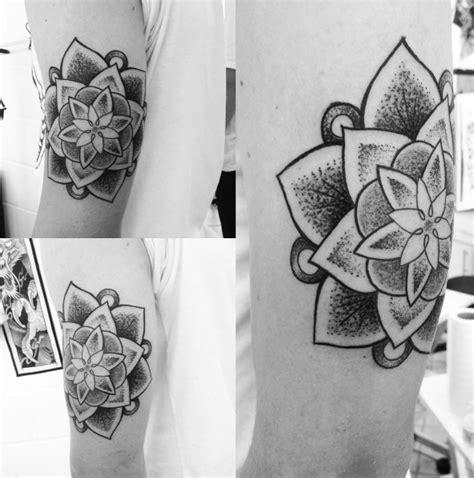 tatouage mandala dotwork la selection tattoome le