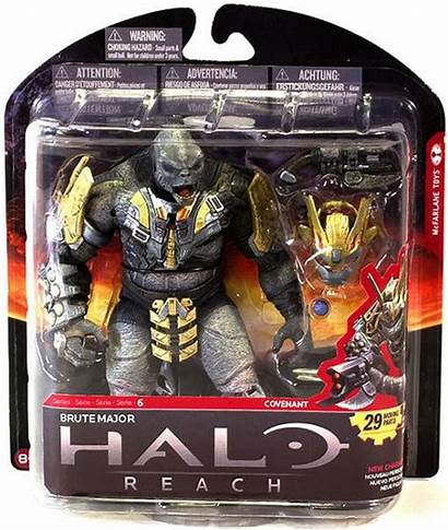 Halo Toys Mcfarlane Brute Reach Action Series