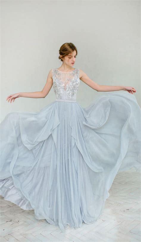 wedding dresses light blue light blue wedding gowns for trendy weddceremony