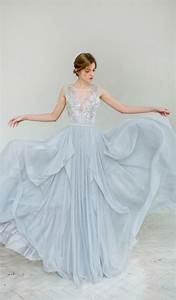 light blue wedding gowns for trendy bride weddceremonycom With ice blue wedding dress