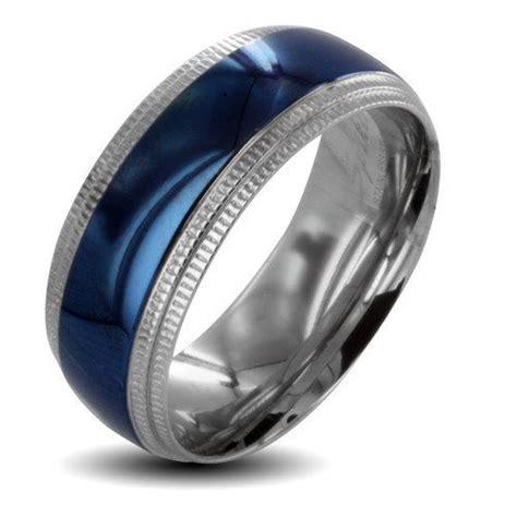 walmart men s silver spinner wedding bands west coast