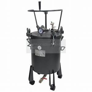 Pressure Tank 20 Litre Bottom Feed Manual Agitator