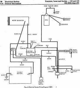 1973 John Deere 112 Headlight Wiring Diagram