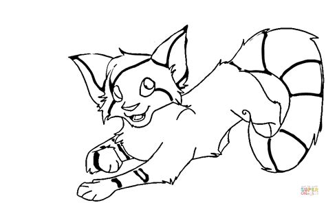 foxy fox coloring page  printable coloring pages
