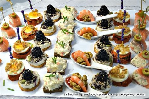 m and s canapes la empana light de bego canapés variados fáciles y