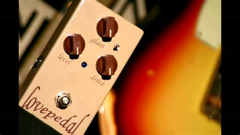 Lovepedal Eternity Fuse Guitar Overdrive