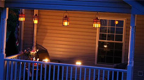 house porch at night use what you have porch design
