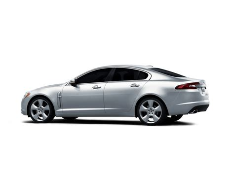 Jaguar Xf Backgrounds by 2009 Jaguar Xf Studio Side Angle White Background