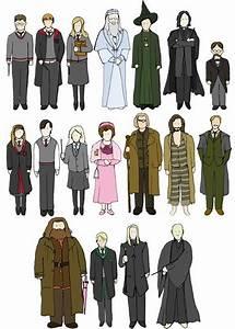 Hogwarts Alumni: Harry Potter Cast in Anime