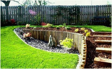 Landscaping Ideas For Small Sloping Backyards - backyard landscaping slope patio landscape architect visit