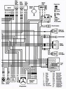 Electrical Wiring Diagram Of 1987 Suzuki Vs700 Intruder