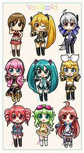 Series 1 - Vocaloid Girls by Akage-no-Hime on DeviantArt