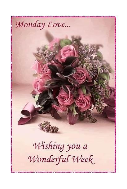 Wishing Wonderful Week Monday
