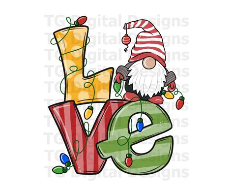 Totally free christmas design resources to help create the perfect holiday including clip art, backgrounds, fonts, borders, images and more. Love PNG Christmas Sublimation File Christmas Gnome PNG ...