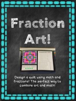 equivalent fraction art project  kemcreations tpt