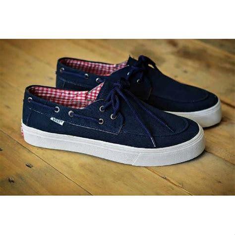 Jual Sepatu Vans Zapato jual sepatu vans zapato wanita flanel navy di lapak