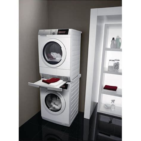 kit lave linge seche linge superposable plateau pour superposer lave linge et seche linge table de lit