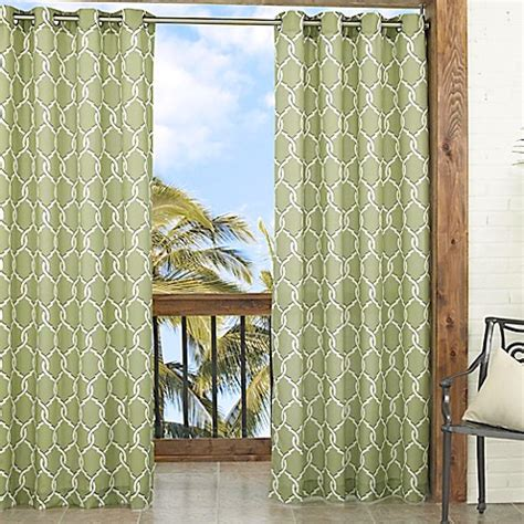 trellis pattern curtains parasol totten key trellis 84 inch window curtain panel