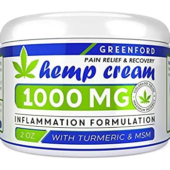 Amazon.com: Pain Relief Hemp Cream 1000 Mg - Emu Oil
