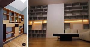 Bibliothèque Murale Design : quelle biblioth que murale pour votre int rieur articl ~ Teatrodelosmanantiales.com Idées de Décoration