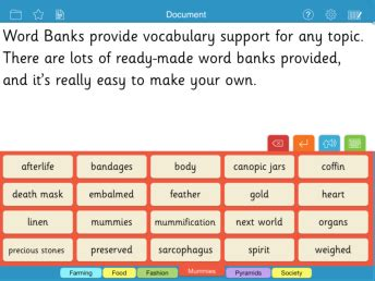 literacy support software addressing dyslexia