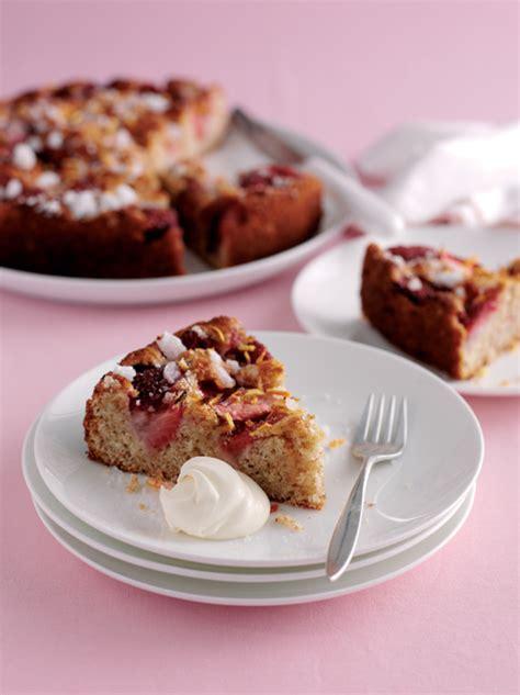 fruit gateaux lemon tart pavlova strawberry cake top summer desserts photo 2