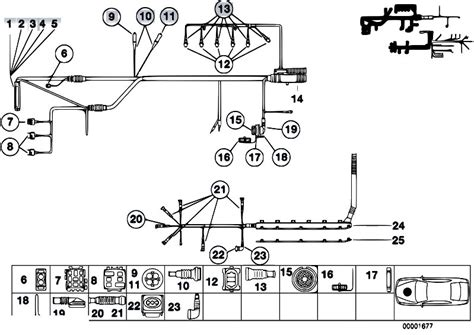 Bmw E39 Lighting Wiring Diagram by Original Parts For Z3 Z3 M3 2 S50 Roadster Engine