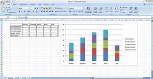 How To Make Stacked Column And Bar Charts In Excel