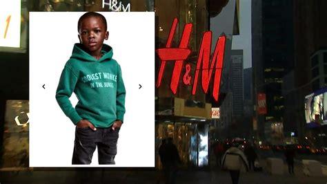 h m si鑒e social h m apologizes following outrage monkey sweatshirt