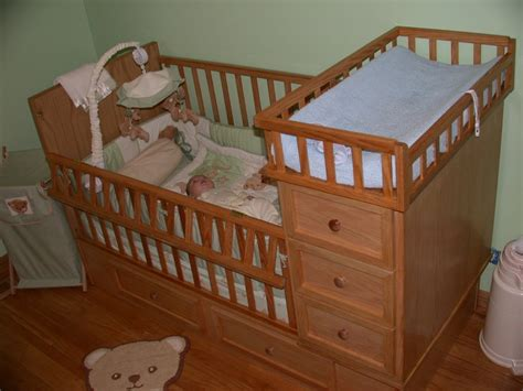 baby crib with changing table crib drawers changing table for my by togoman
