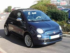 Fiat 500 Bleu Marine : fiat 500 1 3l diesel lounge toit ouvrant ~ Medecine-chirurgie-esthetiques.com Avis de Voitures