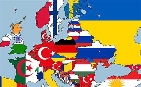 Eiropas Karte - Foto Kolekcija