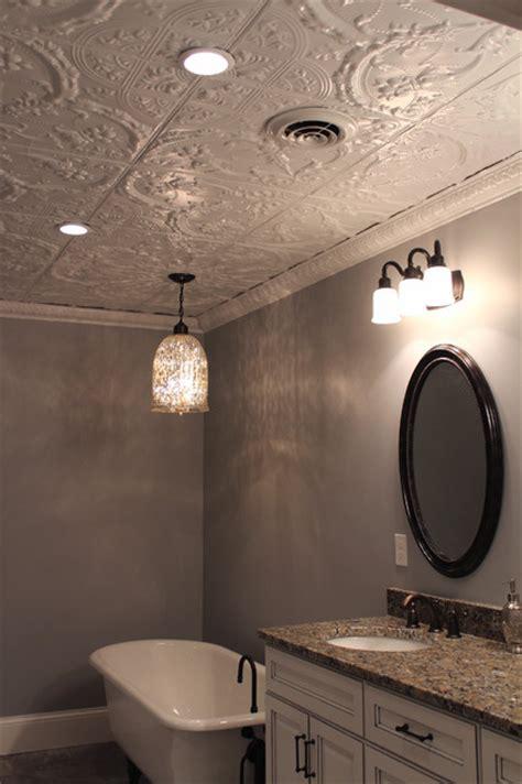 bathrooms  tin ceilings contemporary bathroom