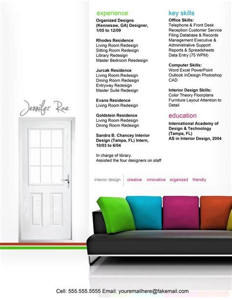 creative resumes for interior designers 50 creative cv resume design inspiration