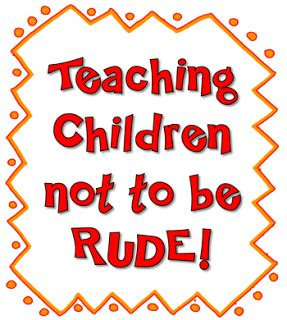 Corkboard Connections Teaching Children Not To Be Rude!  Class  Pinterest  Aula Y Madres