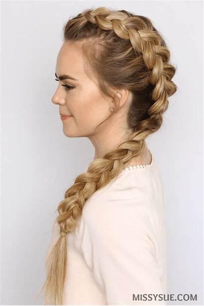 Braid Mohawk Dutch Hairstyles Side Hair Braids